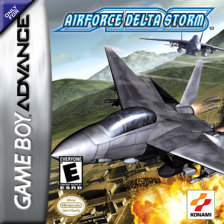 AirForce Delta Storm Nintendo Game Boy Advance cover artwork