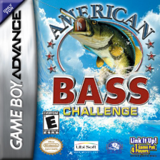 American Bass Challenge Nintendo Game Boy Advance cover artwork