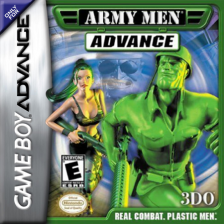 Army Men Advance Nintendo Game Boy Advance cover artwork