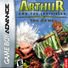 Arthur and the Invisibles Nintendo Game Boy Advance cover artwork