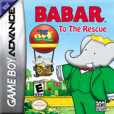 Babar to the Rescue Nintendo Game Boy Advance cover artwork