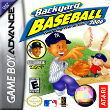 Backyard Baseball 2006 Nintendo Game Boy Advance cover artwork