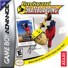 Backyard Skateboarding Nintendo Game Boy Advance cover artwork