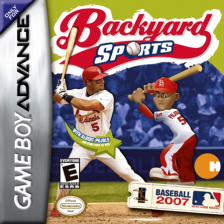 Backyard Sports - Baseball 2007 Nintendo Game Boy Advance cover artwork