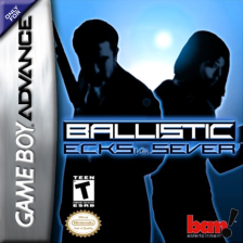 Ballistic - Ecks vs Sever Nintendo Game Boy Advance cover artwork