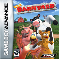 Barnyard Nintendo Game Boy Advance cover artwork