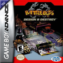 BattleBots - Design & Destroy Nintendo Game Boy Advance cover artwork
