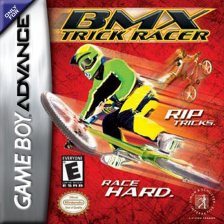 BMX Trick Racer Nintendo Game Boy Advance cover artwork