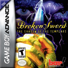 Broken Sword - The Shadow of the Templars Nintendo Game Boy Advance cover artwork