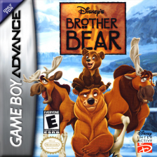 Brother Bear Nintendo Game Boy Advance cover artwork