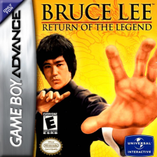 Bruce Lee - Return of the Legend Nintendo Game Boy Advance cover artwork