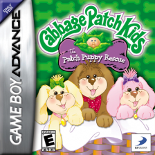 Cabbage Patch Kids - The Patch Puppy Rescue Nintendo Game Boy Advance cover artwork