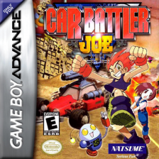 Car Battler Joe Nintendo Game Boy Advance cover artwork