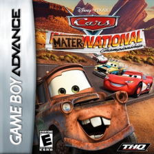 Cars - Mater-National Championship Nintendo Game Boy Advance cover artwork