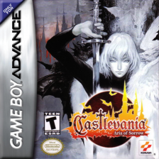 Castlevania - Aria of Sorrow Nintendo Game Boy Advance cover artwork