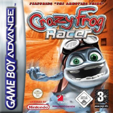 Crazy Frog Racer Nintendo Game Boy Advance cover artwork