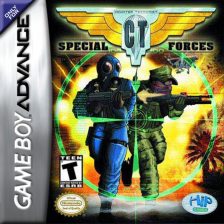 CT Special Forces Nintendo Game Boy Advance cover artwork