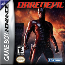 Daredevil Nintendo Game Boy Advance cover artwork