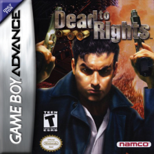 Dead to Rights Nintendo Game Boy Advance cover artwork