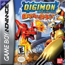Digimon - Battle Spirit Nintendo Game Boy Advance cover artwork
