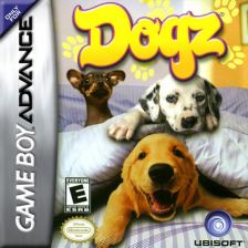 Dogz Nintendo Game Boy Advance cover artwork