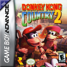 Donkey Kong Country 2 Nintendo Game Boy Advance cover artwork