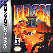 Doom II Nintendo Game Boy Advance cover artwork