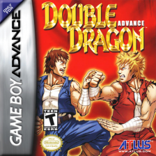 Double Dragon Advance Nintendo Game Boy Advance cover artwork