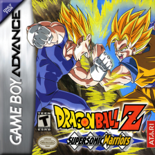 Dragon Ball Z - Supersonic Warriors Nintendo Game Boy Advance cover artwork