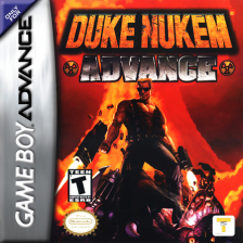 Duke Nukem Advance Nintendo Game Boy Advance cover artwork