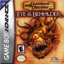Dungeons & Dragons - Eye of the Beholder Nintendo Game Boy Advance cover artwork
