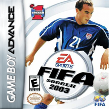 FIFA Soccer 2003 Nintendo Game Boy Advance cover artwork