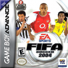 FIFA Soccer 2004 Nintendo Game Boy Advance cover artwork
