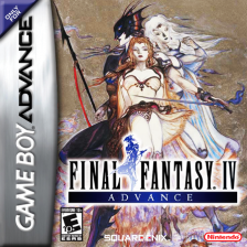 Final Fantasy IV Advance Nintendo Game Boy Advance cover artwork