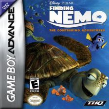Finding Nemo - The Continuing Adventures Nintendo Game Boy Advance cover artwork