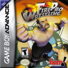 Fire Pro Wrestling Nintendo Game Boy Advance cover artwork