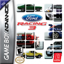 Ford Racing 3 Nintendo Game Boy Advance cover artwork