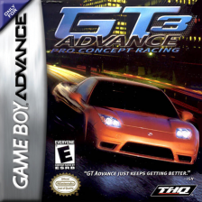 GT Advance 3 - Pro Concept Racing Nintendo Game Boy Advance cover artwork