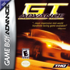 GT Advance - Championship Racing Nintendo Game Boy Advance cover artwork