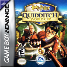 Harry Potter - Quidditch World Cup Nintendo Game Boy Advance cover artwork