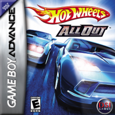 Hot Wheels - All Out Nintendo Game Boy Advance cover artwork