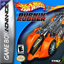 Hot Wheels - Burnin' Rubber Nintendo Game Boy Advance cover artwork