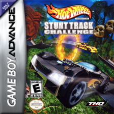 Hot Wheels - Stunt Track Challenge Nintendo Game Boy Advance cover artwork