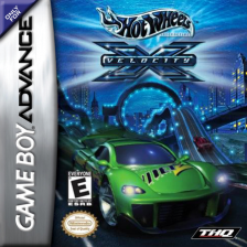Hot Wheels - Velocity X Nintendo Game Boy Advance cover artwork