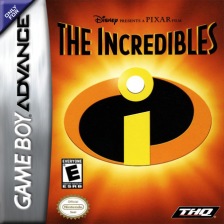 Incredibles, The Nintendo Game Boy Advance cover artwork