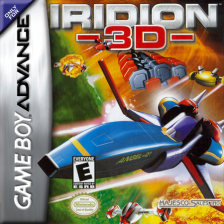 Iridion 3D Nintendo Game Boy Advance cover artwork