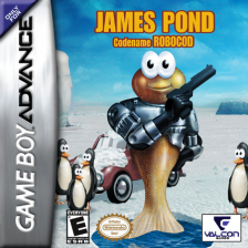 James Pond - Codename Robocod Nintendo Game Boy Advance cover artwork