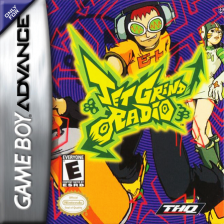 Jet Grind Radio Nintendo Game Boy Advance cover artwork