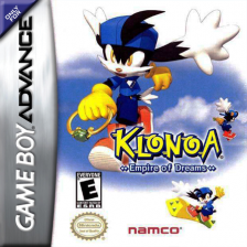 Klonoa - Empire of Dreams Nintendo Game Boy Advance cover artwork