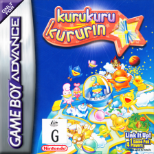 Kurukuru Kururin Nintendo Game Boy Advance cover artwork